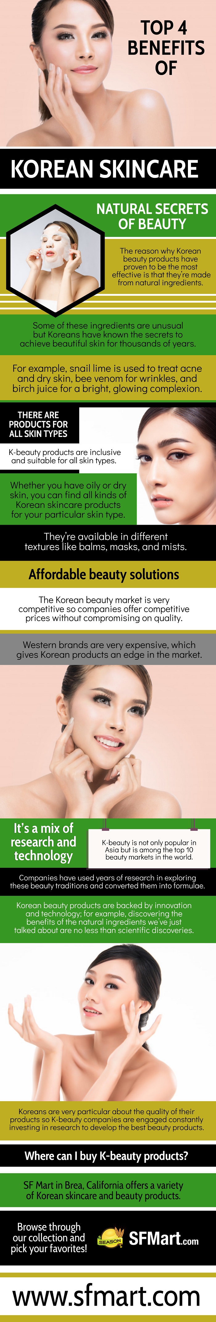 Top 4 Benefits Of Korean SkinCare