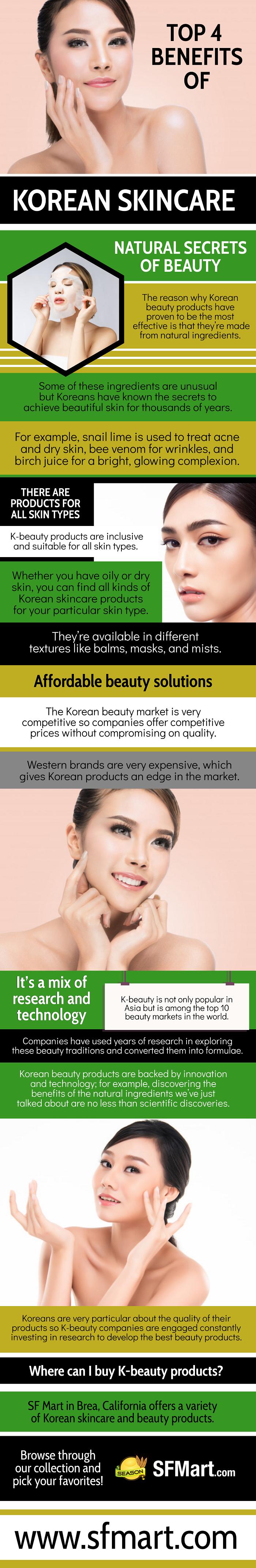 Top 4 Benefits Of Korean SkinCare